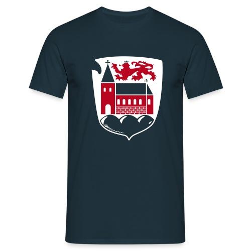 Wappen für dunklen Stoff - Männer T-Shirt