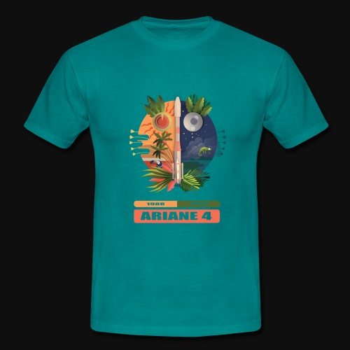 Ariane 4 - Carnaval figures and legends - Men's T-Shirt