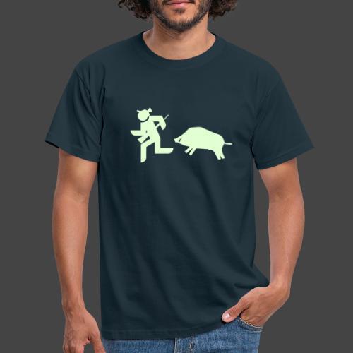 """Jäger vs Keiler""-Shirt für Jäger - ein Klassiker! - Männer T-Shirt"
