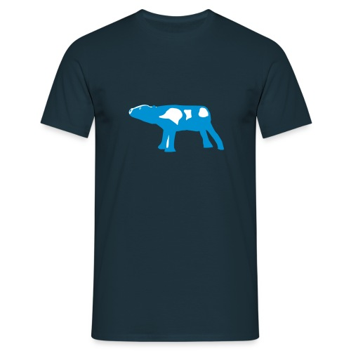 mooing calf - Men's T-Shirt