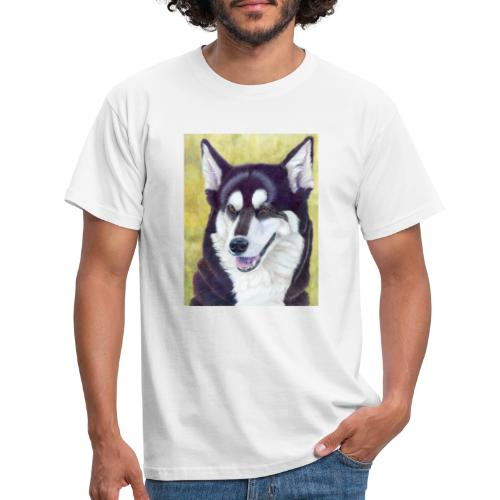 Siberian husky - Herre-T-shirt