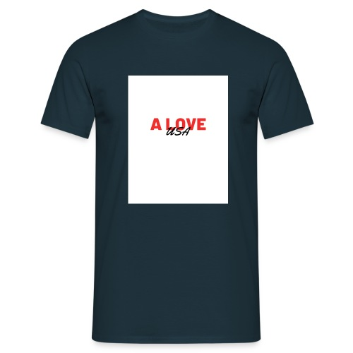 a love usa - T-shirt Homme