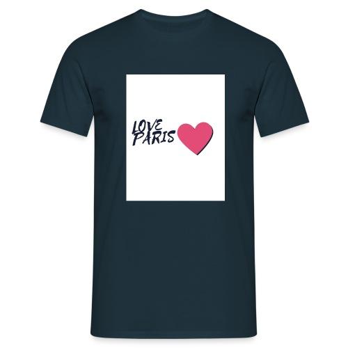 love paris 2 - T-shirt Homme