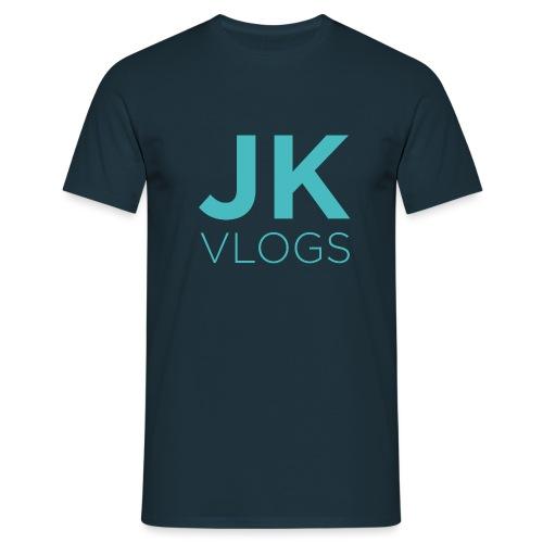 JK Vlogs Logo - Men's T-Shirt