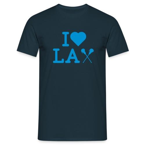 LAX I Herz - Männer T-Shirt