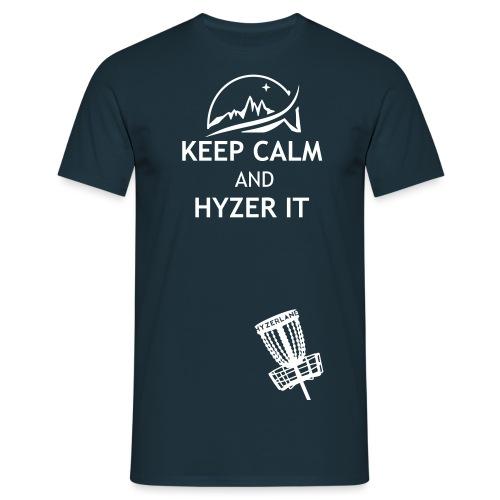 keepcalm andhyzerit - Men's T-Shirt
