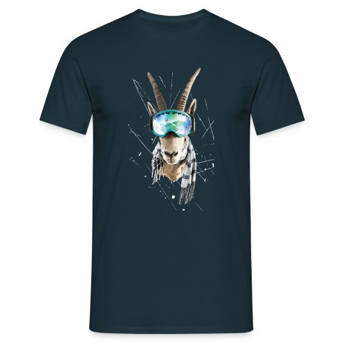 shirt druck weiß 01 01 png - Männer T-Shirt