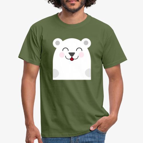 Oso kawaii - Camiseta hombre