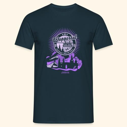 Wuppertal T Shirt Design Spruch Genau mein Fall - Männer T-Shirt