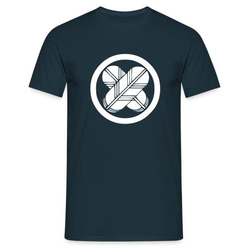Japanese Family Crest Takanoha - Männer T-Shirt