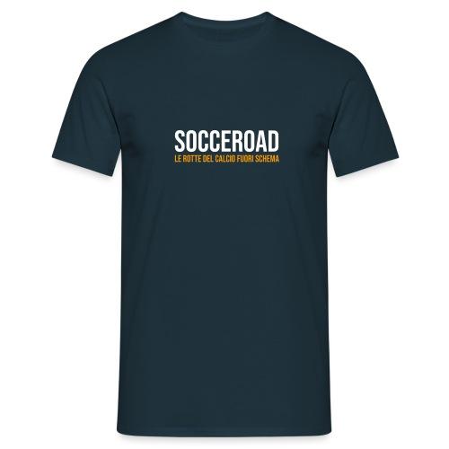 SOCCEROAD le rotte del calcio fuori schema - Maglietta da uomo