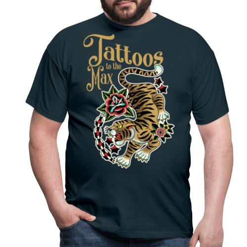 Tattoos to the Max - Tiger Unchained - Männer T-Shirt