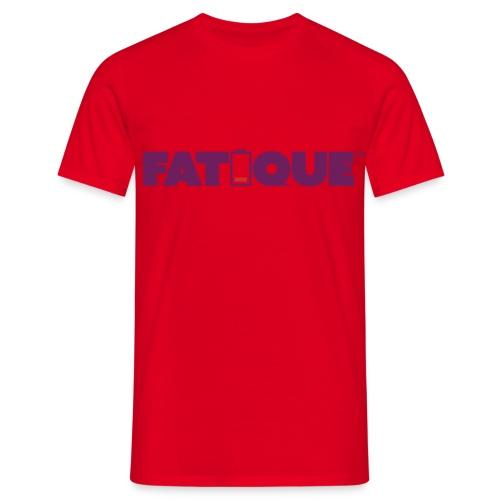 Fatigue plum loco logo - Miesten t-paita