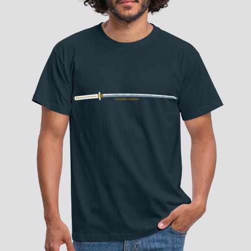 Metallic Katana - Mannen T-shirt