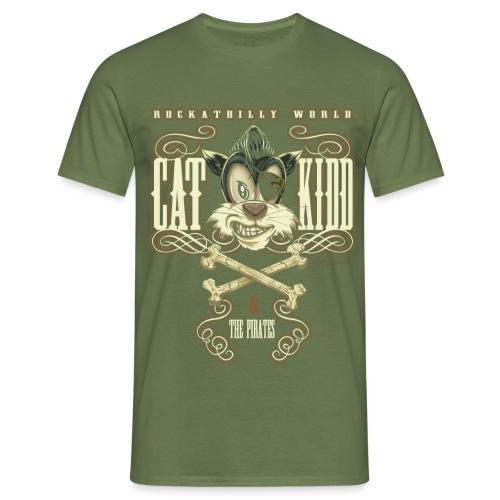 gato kidd 2 unido2ok - Camiseta hombre