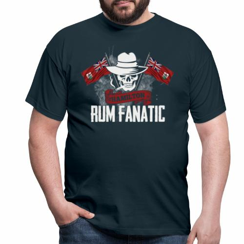 T-shirt Rum Fanatic - Hamilton, Bermuda - Koszulka męska
