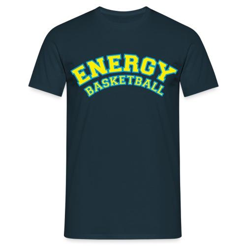 street wear logo giallo energy basketball - Maglietta da uomo
