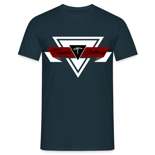 driehoekcomplex2 png - Mannen T-shirt
