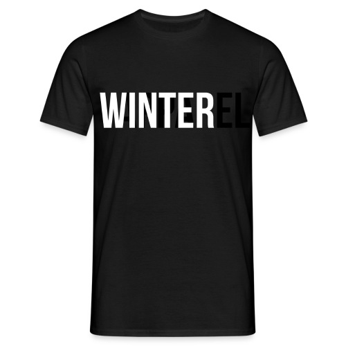 Winter Apparel Logo - Herre-T-shirt