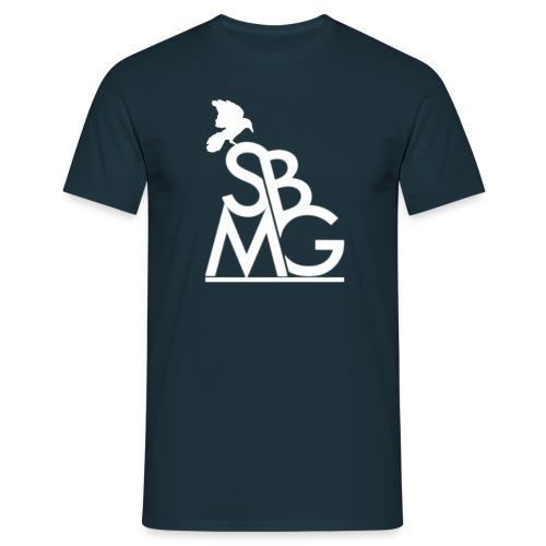 121212SBMGLOGO wit png - Mannen T-shirt