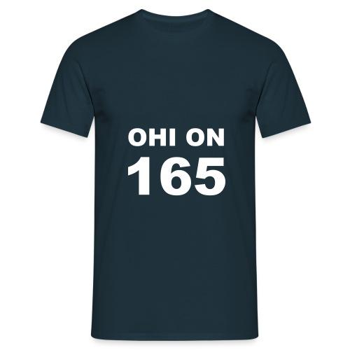 ohi on 165 - Miesten t-paita