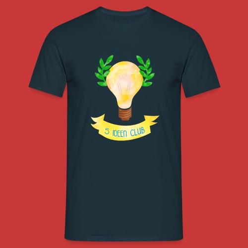 5 IDEEN CLUB Glühbirne 2018 - Männer T-Shirt