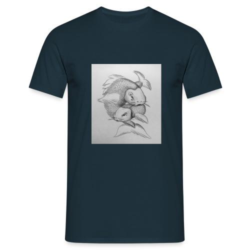Koi Fische - Männer T-Shirt