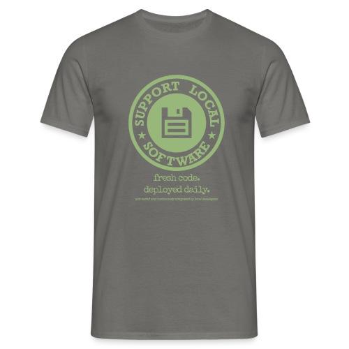 Fresh Code. Deployed Daily. - Men's T-Shirt