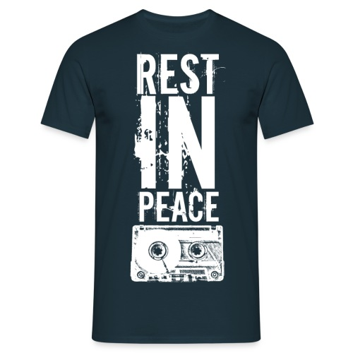 white_cassette - Männer T-Shirt
