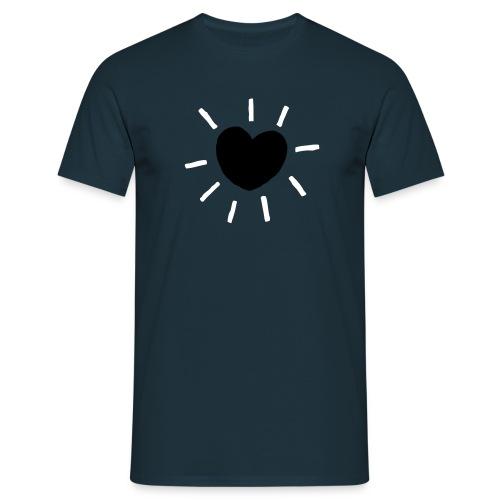 hart - Mannen T-shirt