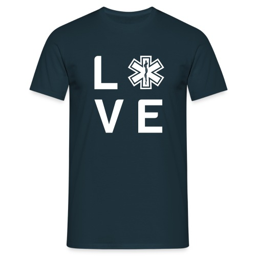 Retter Love Small - Männer T-Shirt