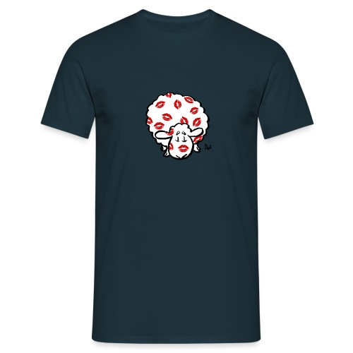 Beso oveja - Camiseta hombre