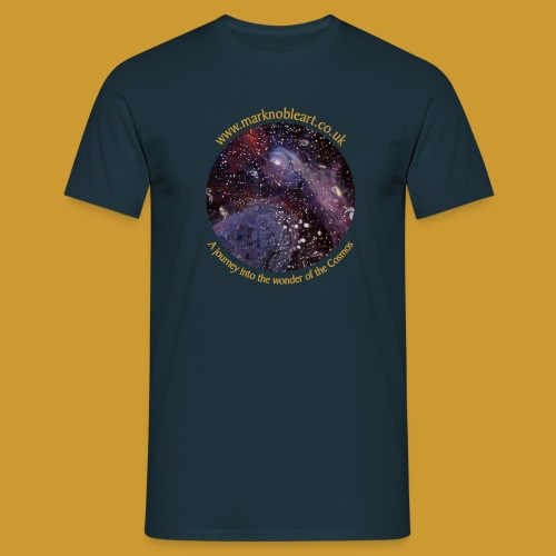 Journey into the Cosmos - Men's T-Shirt