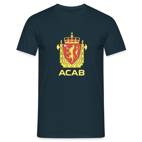 ACAB Logo - T-skjorte for menn
