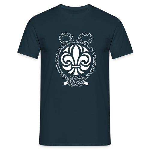 ÖrnsbergLogotyp-Vit - T-shirt herr