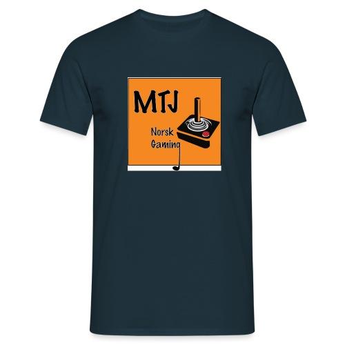 Mtj Logo - T-skjorte for menn