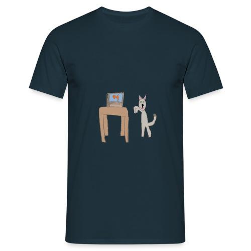 Something fishy - Men's T-Shirt