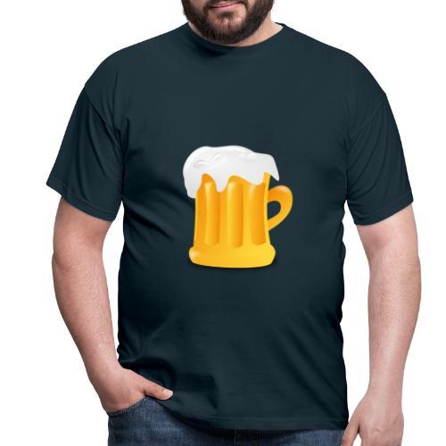 Bier - Männer T-Shirt