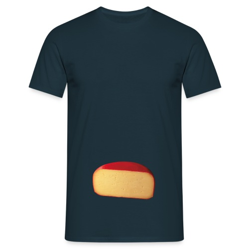 cheese PNG13 png - Men's T-Shirt