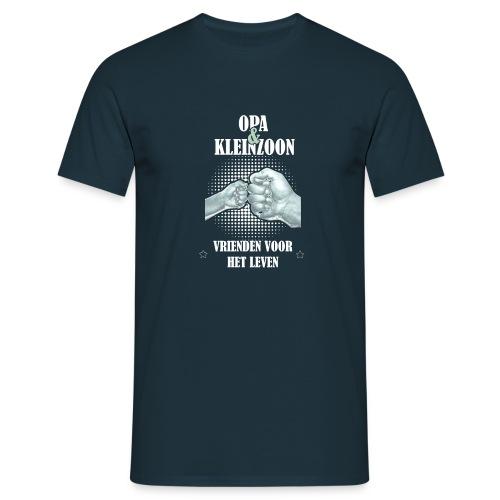 Opa & Kleinzoon vrienden voor het leven - Mannen T-shirt