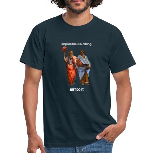 Platon und Aristoteles - Männer T-Shirt