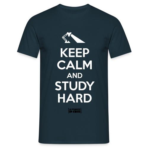 tshirt studyhard - Maglietta da uomo