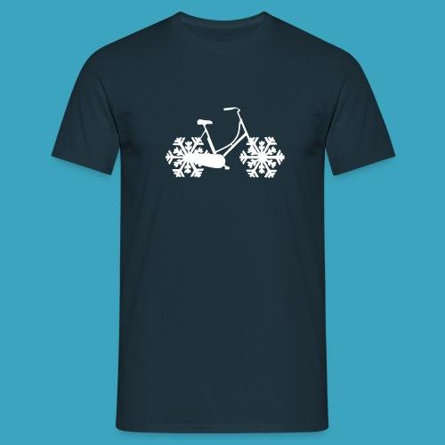 SnowBike - Männer T-Shirt