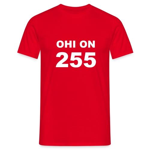 ohi on 255 - Miesten t-paita