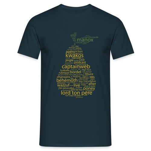 tshirtpoirefclairpng - T-shirt Homme