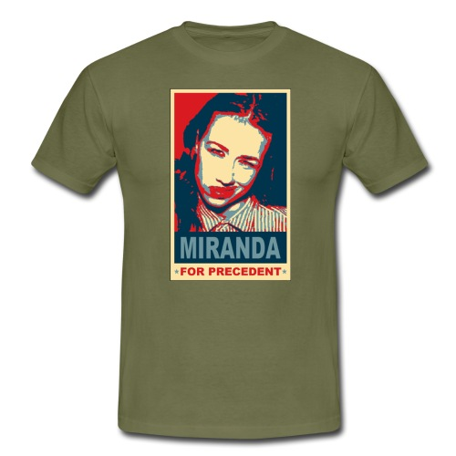 tshirt miranda for precedent - Men's T-Shirt