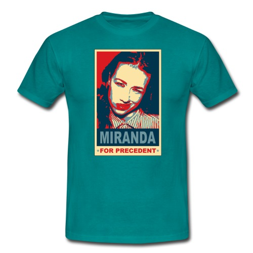 tshirt miranda for precedent - Men's T-Shirt