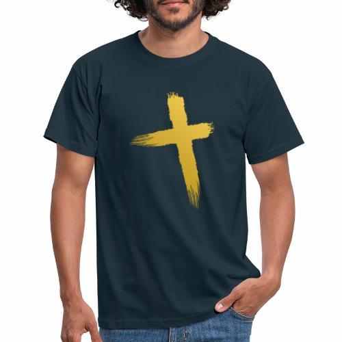 Kreuz Jesu - Männer T-Shirt