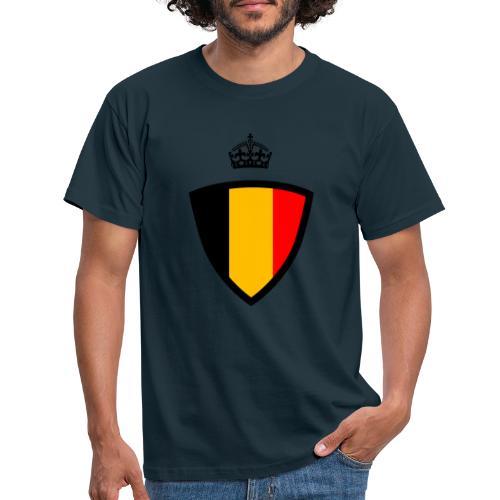 Koninkrijk belgië schild - T-shirt Homme