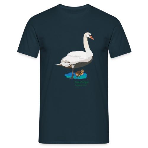 Cisne-Vulgar - Männer T-Shirt
